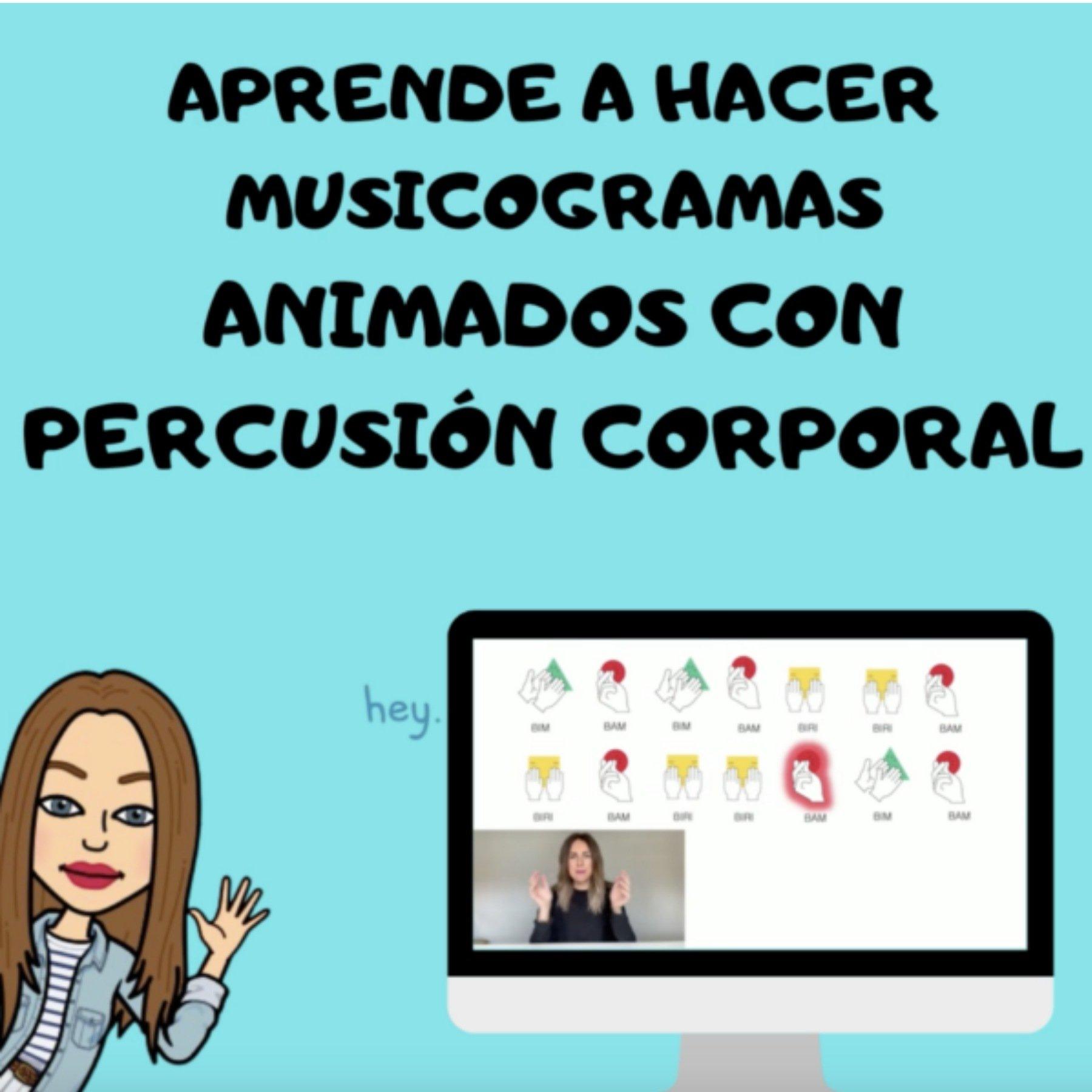 Cómo crear Musicogramas animados