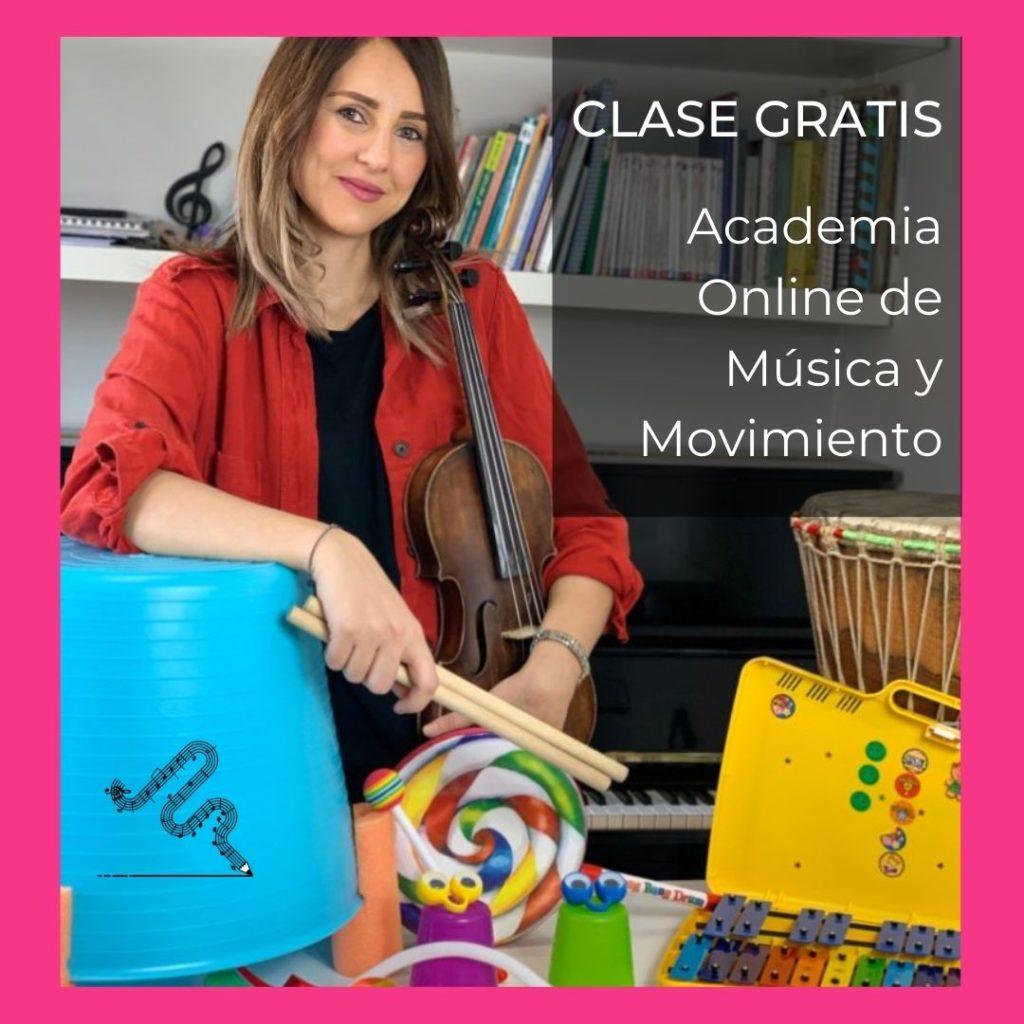 Clase gratis de la Academia Online de Música y Movimiento
