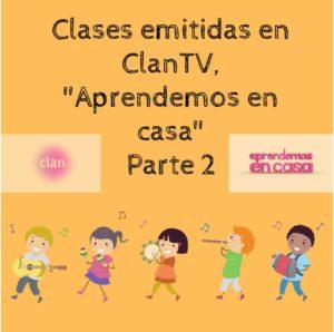 Aprendemos en casa Clan TV